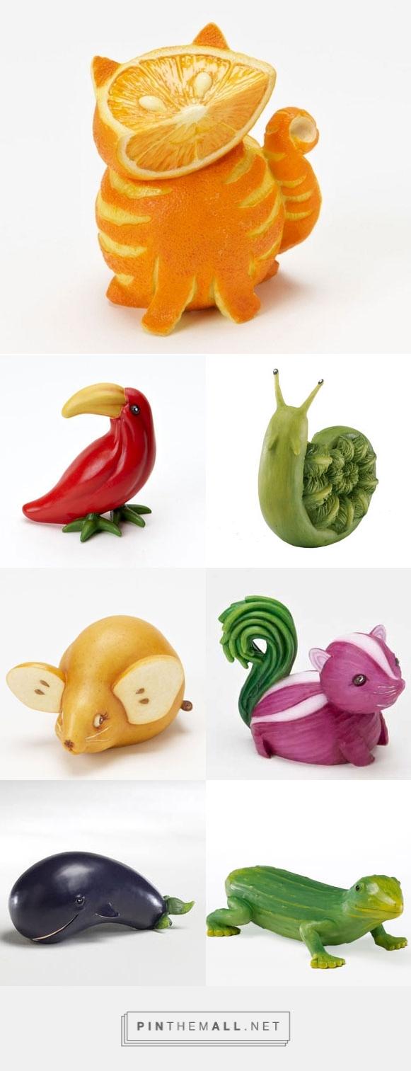 Как сделать из фигурки овощей