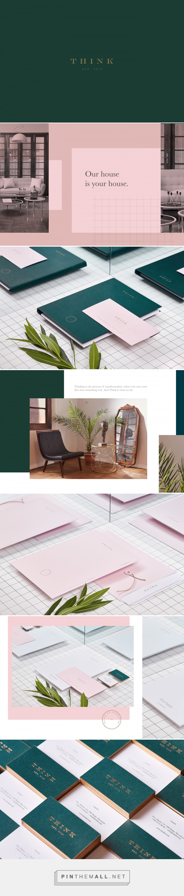 Think House of Furniture Branding by Miki Stefanoski