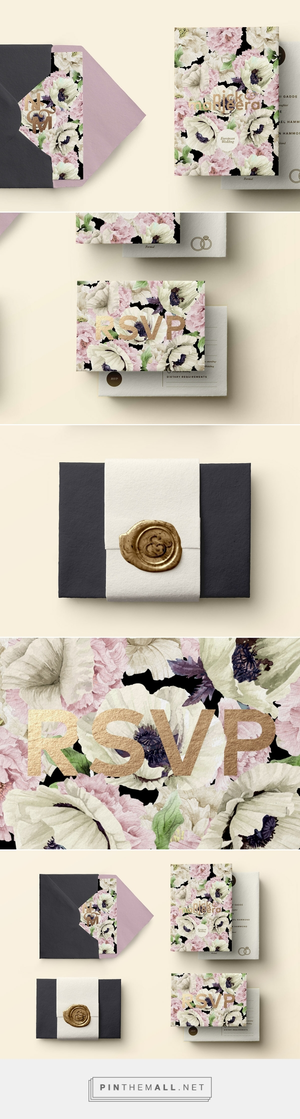 Wedding Invitations by Forever After Design