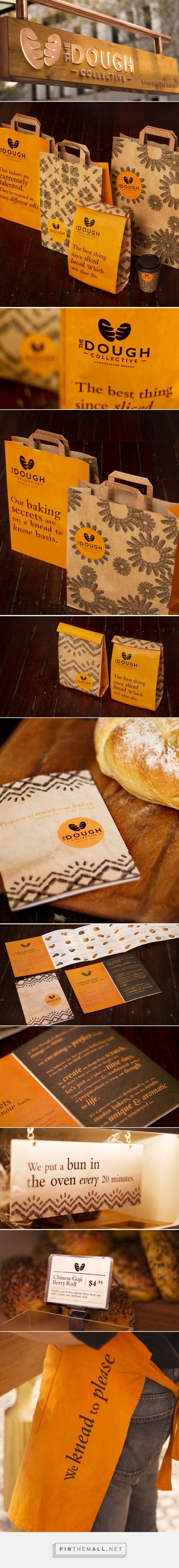 The Dough Collective Bakery Branding and Packaging by The Creative Method